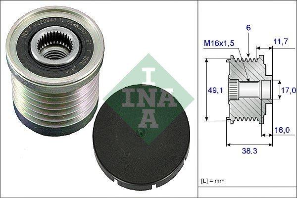 Bj M45200 BRAKING Wave Bremsscheibe vorne WF8103V f/ür Vespa GTS 300 ie Super 2012