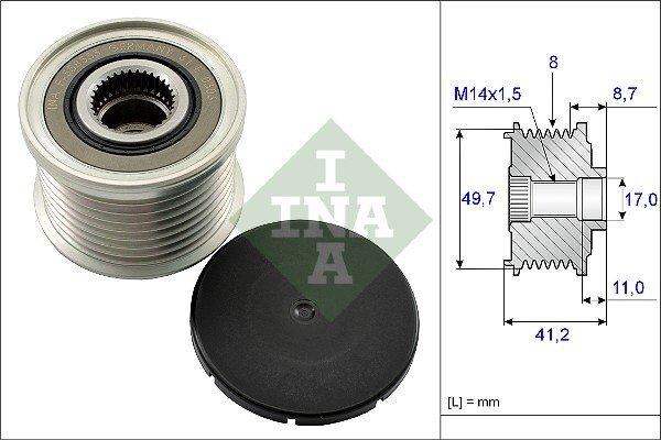 Generatorfreilauf INA 535 0141 10