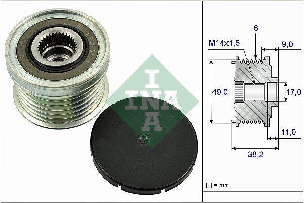 Generatorfreilauf INA 535 0268 10