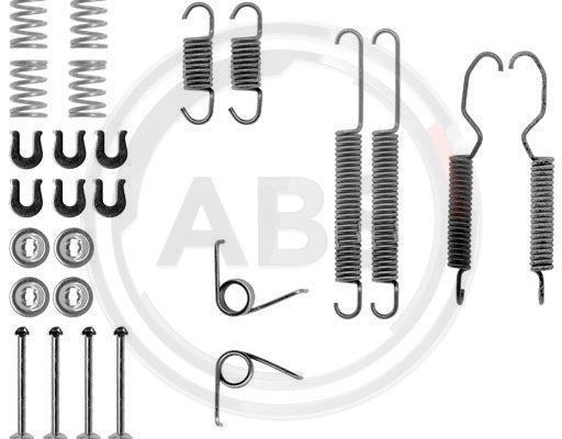 Zubehörsatz, Bremsbacken A.B.S. 0683Q Bild 1