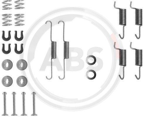 Zubehörsatz, Feststellbremsbacken A.B.S. 0788Q