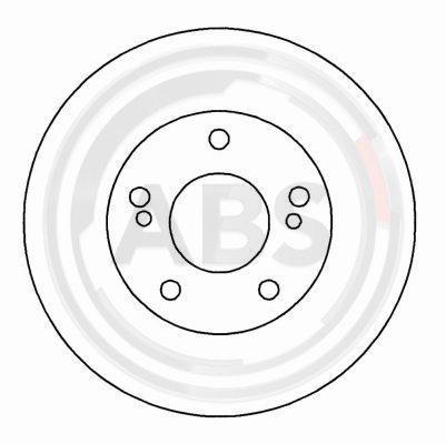Bremsscheibe A.B.S. 16040