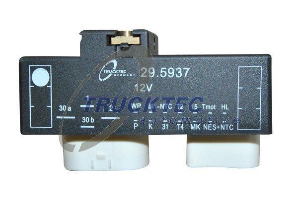 Steuergerät, Elektrolüfter (Motorkühlung) TRUCKTEC AUTOMOTIVE 07.42.090