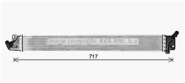 Kühler, Antriebsbatterie AVA QUALITY COOLING KA2307 Bild 1