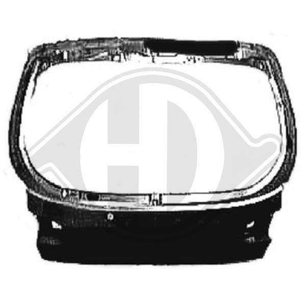 Koffer-/Laderaumklappe DIEDERICHS 6920029