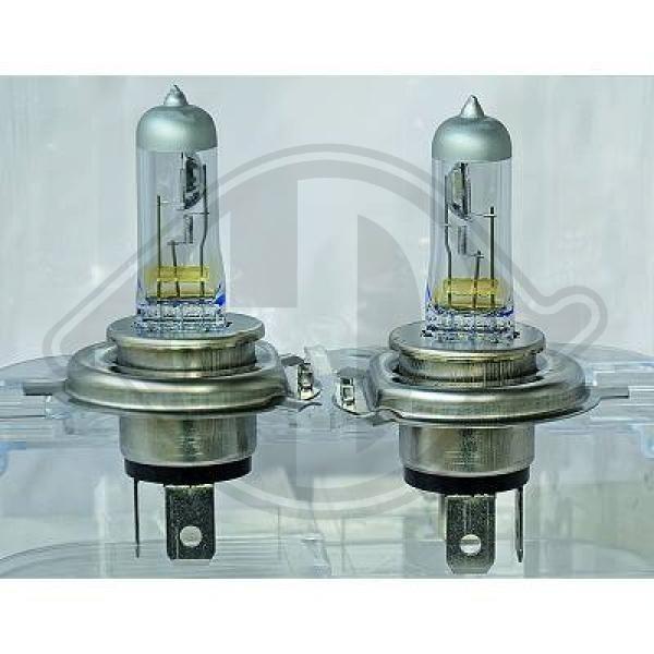 Glühlampe, Hauptscheinwerfer 12 V DIEDERICHS 9400089