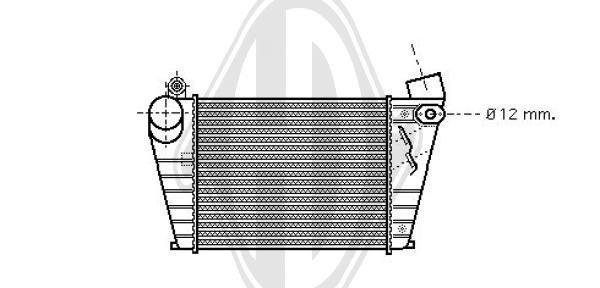 Ladeluftkühler DIEDERICHS DCA1080