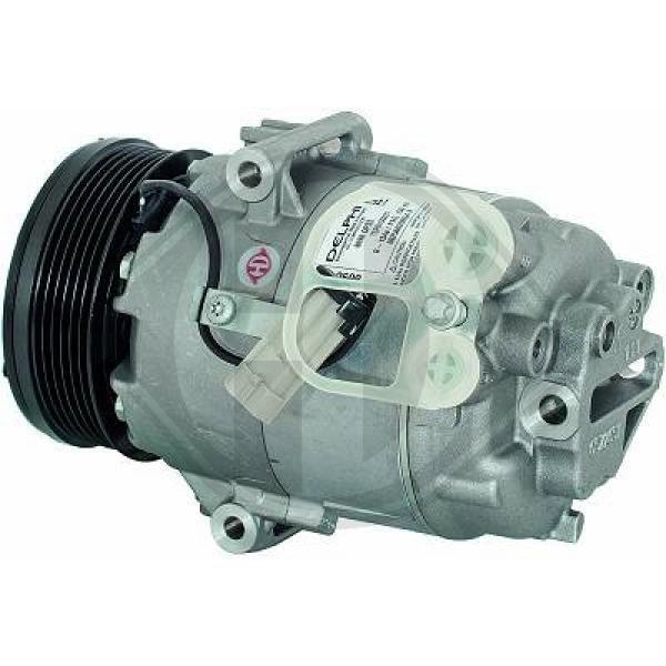 Kompressor, Klimaanlage 12 V DIEDERICHS DCK1424