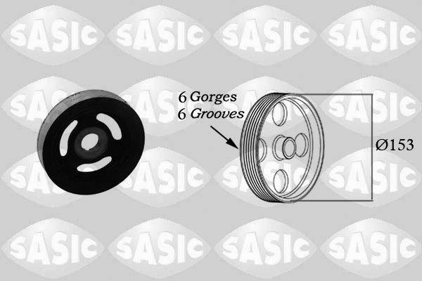 Riemenscheibe für Kurbelwelle MINI Mini Mini Cabriolet Neu