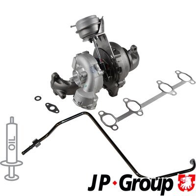 Lader, Aufladung JP GROUP 1117800810
