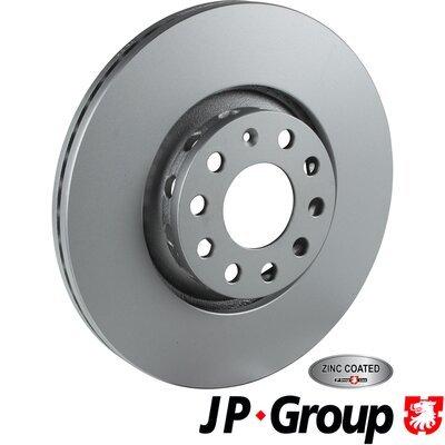 Bremsscheibe Vorderachse JP GROUP 1163110500