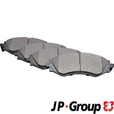 Bremsbelagsatz, Scheibenbremse Vorderachse JP GROUP 3263600310