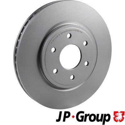 Bremsscheibe Vorderachse JP GROUP 4063101000