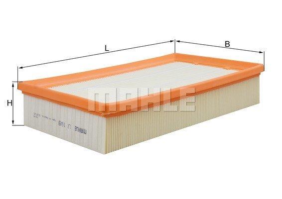 Luftfilter MAHLE LX 1649