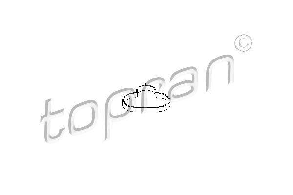 Dichtung, Ansaugkrümmer TOPRAN 302 268