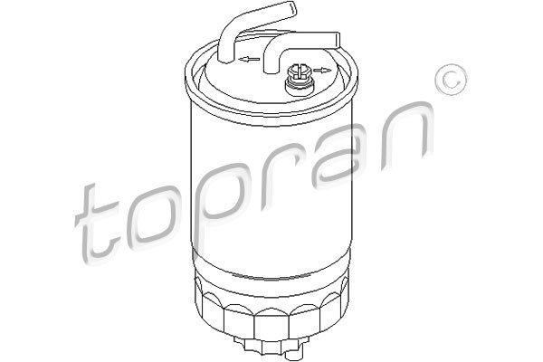Kraftstofffilter TOPRAN 301 055