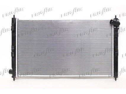 Kühler, Motorkühlung FRIGAIR 0116.3036 Bild 1