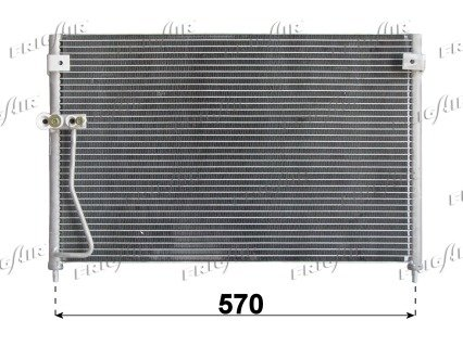 Kondensator, Klimaanlage FRIGAIR 0825.3016