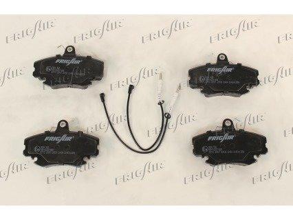 Bremsbelagsatz, Scheibenbremse Vorderachse FRIGAIR PD09.502