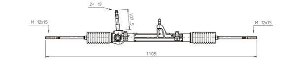 Lenkgetriebe GENERAL RICAMBI FI4101