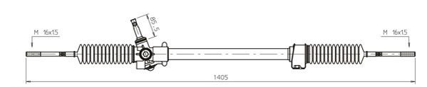 Lenkgetriebe GENERAL RICAMBI FI4118