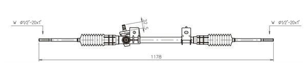 Lenkgetriebe GENERAL RICAMBI FO4021