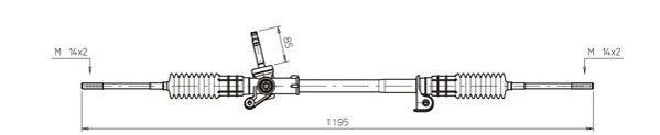 Lenkgetriebe GENERAL RICAMBI FO4023