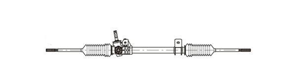Lenkgetriebe GENERAL RICAMBI RE4052