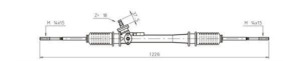 Lenkgetriebe GENERAL RICAMBI WW4037