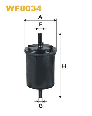 Kraftstofffilter WIX FILTERS WF8034