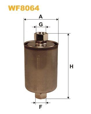 Kraftstofffilter WIX FILTERS WF8064