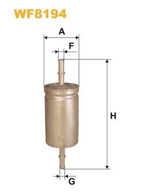 Kraftstofffilter WIX FILTERS WF8194