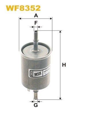Kraftstofffilter WIX FILTERS WF8352