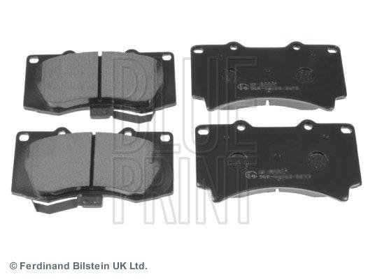 Bremsbelagsatz, Scheibenbremse Vorderachse BLUE PRINT ADA104221 Bild 1