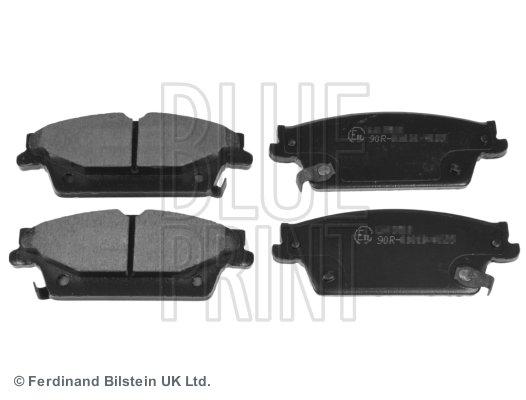 Bremsbelagsatz, Scheibenbremse Hinterachse BLUE PRINT ADA104252