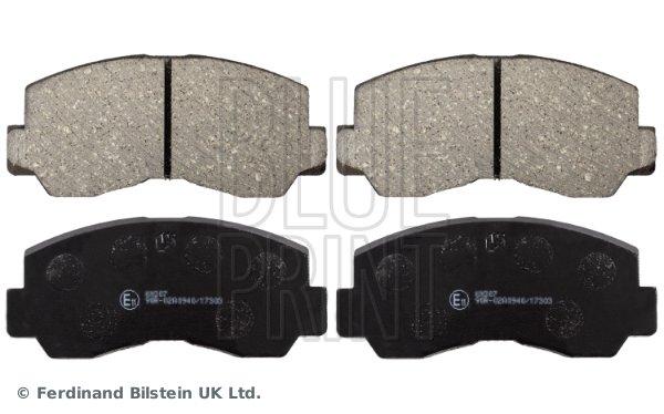 Bremsbelagsatz, Scheibenbremse Vorderachse BLUE PRINT ADC44216