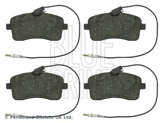 Bremsbelagsatz, Scheibenbremse Vorderachse BLUE PRINT ADP154235