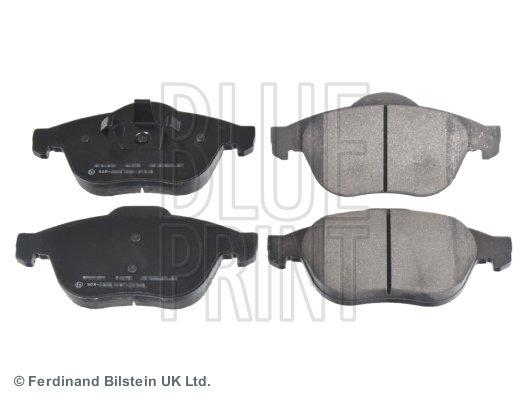 Bremsbelagsatz, Scheibenbremse Vorderachse BLUE PRINT ADR164214