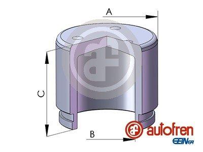 Kolben, Bremssattel Vorderachse AUTOFREN SEINSA D025223