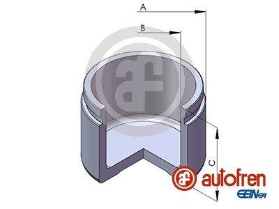 Kolben, Bremssattel Vorderachse AUTOFREN SEINSA D025374