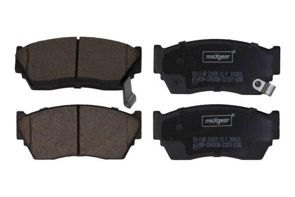 Bremsbelagsatz, Scheibenbremse Vorderachse MAXGEAR 19-1148