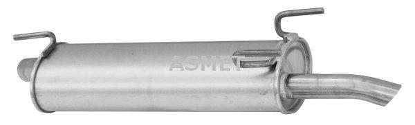 Endschalldämpfer ASMET 09.101