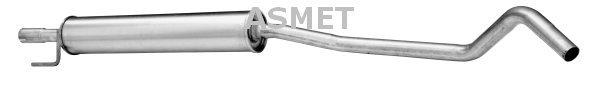 Mittelschalldämpfer ASMET 05.145