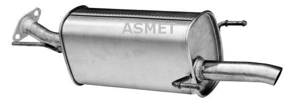 Endschalldämpfer ASMET 05.160