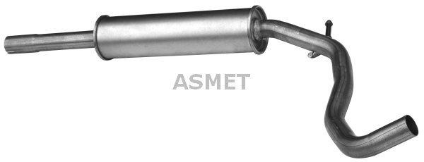 Mittelschalldämpfer ASMET 19.025