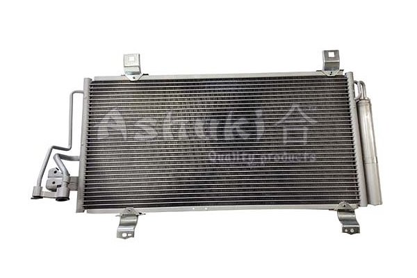 Kondensator, Klimaanlage ASHUKI M981-54