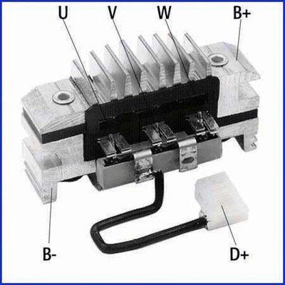 Gleichrichter, Generator HITACHI 139581