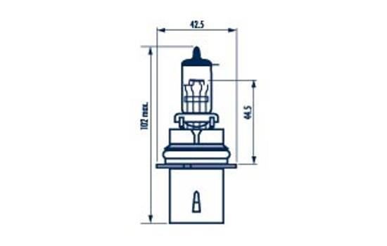 Glühlampe, Fernscheinwerfer 12 V NARVA 48007