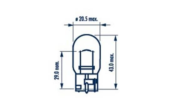 Glühlampe, Blinkleuchte 12 V NARVA 17632