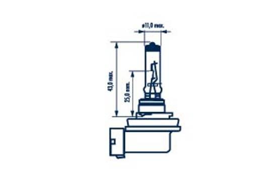 Glühlampe, Fernscheinwerfer 12 V NARVA 48078